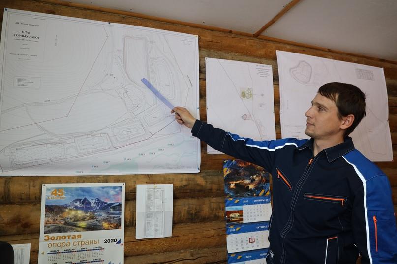 Начальник ГРК Сергей Гладышев.