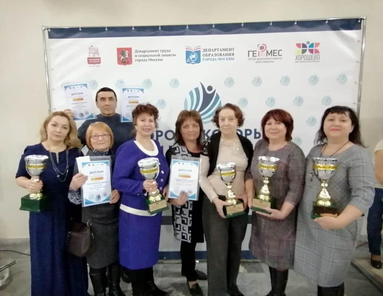 Представители проекта «Московское долголетие» собрали урожай наград на фестивале «Дороги, которые мы выбираем»