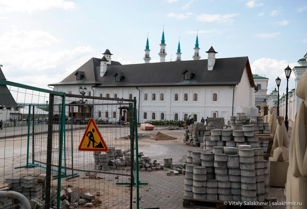 Ремонт на территории казанского Кремля – Казань 2020
