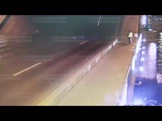 Байкер упал в Неву с разведенного моста