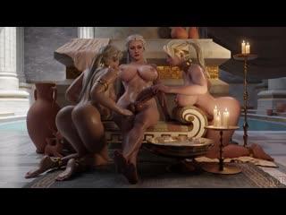 Cassie_Cage Mortal_Kombat Sindel Sonya_Blade