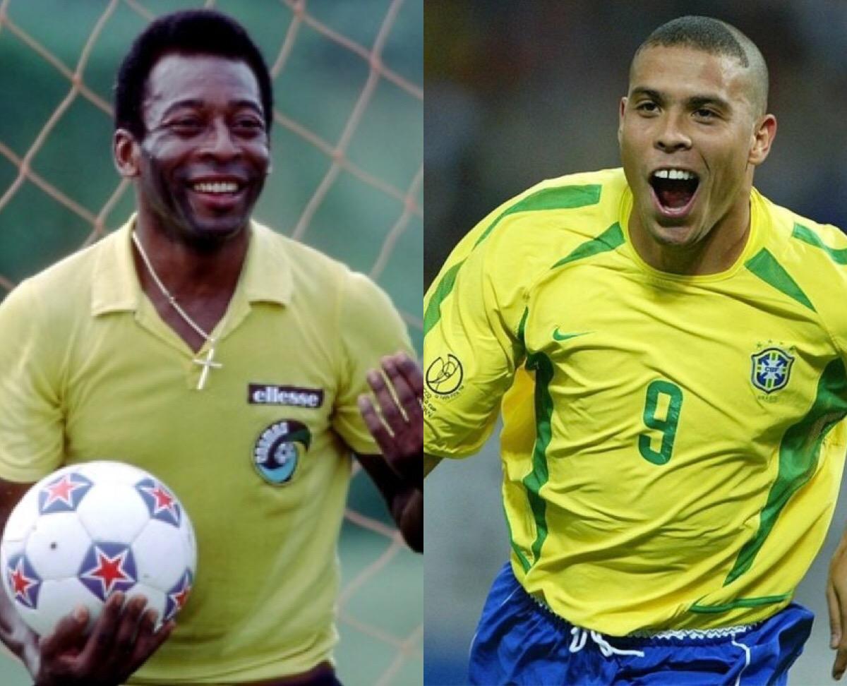 Пеле и Роналдо