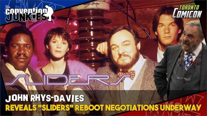 "John Rhys-Davies Reveals ""Sliders"" Reboot Negotiations Underway"