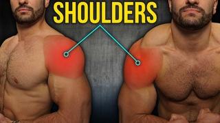 5min Home WIDER-SHOULDERS Workout (DUMBBELLS ONLY!!)