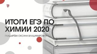 Итоги ЕГЭ по химии 2020. Гладырёва Оксана Владимировна