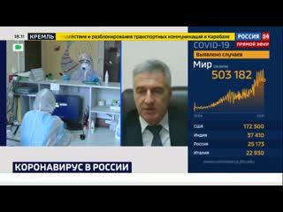 Интервью Артура Парфенчикова телеканалу  Россия-24
