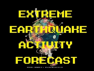 3/05/2021 -- Large earthquake unrest -- New forecast for USA, Europe, Asia, Central / South America