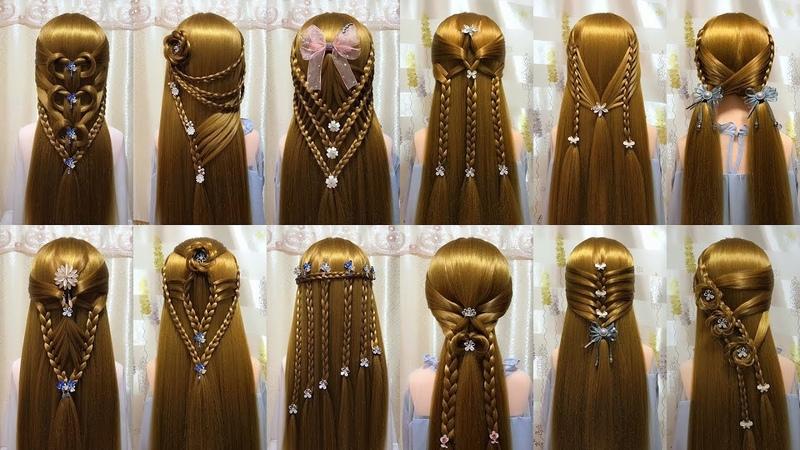 26 Kiểu tết tóc đẹp đơn giản dễ làm | Easy Braided Hairstyles For Long Hair 20