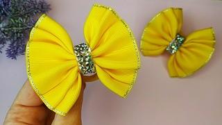 Bows for Hair - How to make Hair Bows - Hair Bow tutorial - Handmade Hair Bows - #10