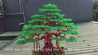 Bonsai handmade dây đông | hướng dẫn làm cây đa bằng dây đồng phần 2 | bonsai handmade ha noi.
