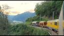 ★ 4K Rear view cab ride Poschiavo - Cavaglia with Diesel [07.2020]