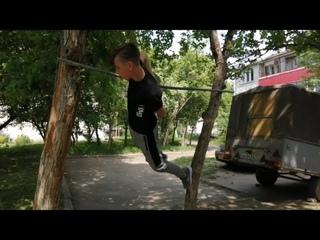 Армейский выход на турнике- ОБУЧАЛКА