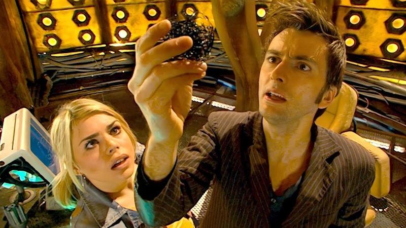 На меня напали каракули HD Бойся её Доктор Кто