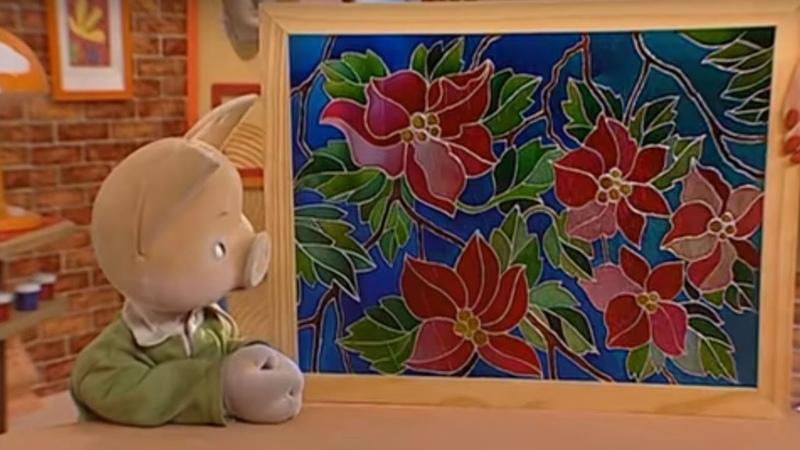 История искусств вместе с Хрюшей - Витражи - Детская передача про искусство