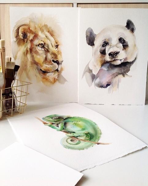 Художница Катерина Михайлина Художница из Тулы вдохновляется природными мотивами, живет в экодоме и рисует потрясающие акварельные картины. Её иллюстрации очень нежные и
