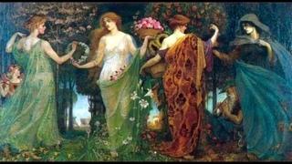 Фантазийные женские образы в живописи. Уотерхаус, John William Waterhouse.