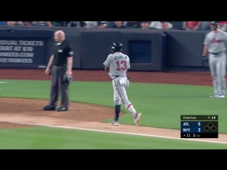 20-years-old, and Ronald Acuña Jr. already has the clutch gene. - - How about a game-winni