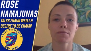 Rose Namajunas reacts to Dana White's and Mike Tyson's comments | Ariel Helwani's MMA Show