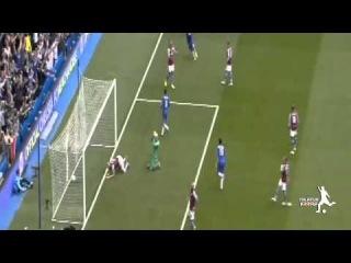 Chelsea vs Aston Villa 1-0 Oscar Goal Premier League 27/09/2014 HD