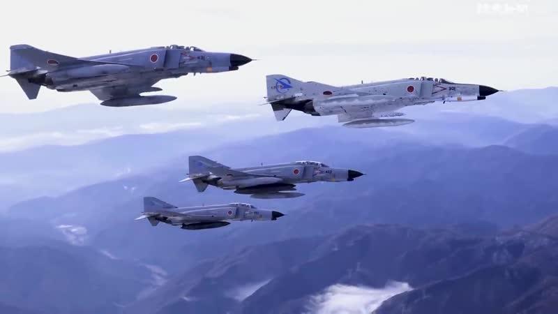 Последний полёт японских F 4EJ