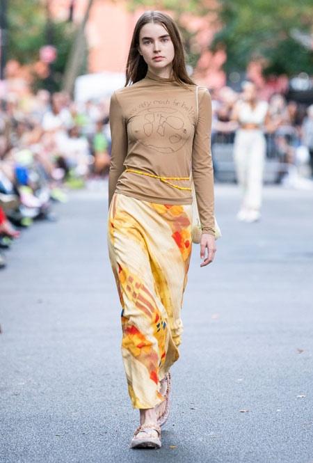 Самые модные юбки лета 2020, изображение №8