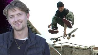 BROKEN RIBS AFTER LANDING A TRICK? JUSTIN SOMMER TALKS TIL THE END V 4 | Santa Cruz Skateboards