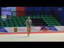Диана Симошина булавы многоборье Irina cup 2018