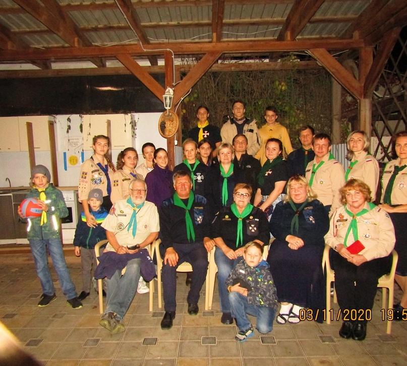На осенних каникулах в Анапе состоялся совет руководителей и старших разведчиков Северо-Кавказского отдела ОРЮР
