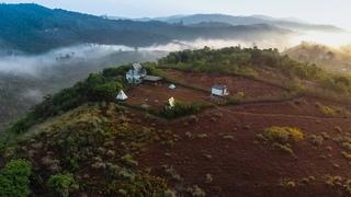 A hidden paradise called Sathram (4K) | Drone shots | Kerala Tourism