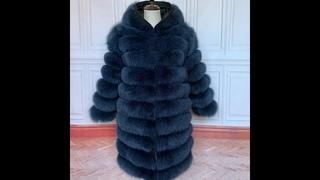 90 см 2020 зимняя женская шуба из натурального лисьего меха натуральная женская шуба из лисьего меха высококачественная дамская