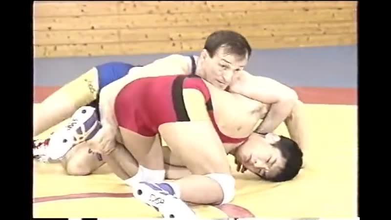 Техника борьбы Сергея Белоглазова Япония 1998