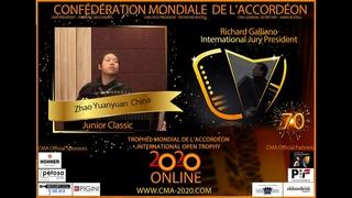 Junior Classic 1st round-Zhao Yuanyuan(China)