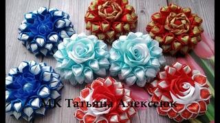 Бантики из узкой ленты 2 см и 0,6 см / DIY Hair Bow / Beautiful Ribbon Bow / Bow tutorial / Kanzashi