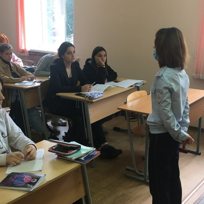 10 сентября — Беседы с обучающимися инспектора ПДН., изображение №1