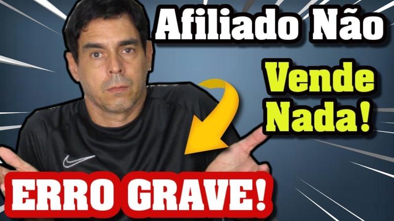 ERRO Grave AFILIADO Iniciante Nem PRODUTO BOM PARA VENDER nem a (Primeira Venda no Hotmart)