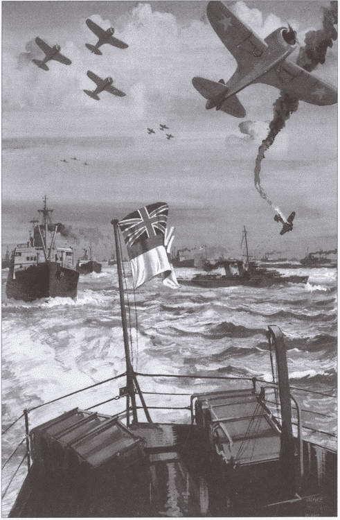 Английский плакат времен Второй мировой войны