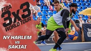 NY Harlem v Sakiai | Полная игра| FIBA 3x3 World Tour - Debrecen Masters 2020