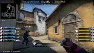 CS:GO POV Demo Virtus Pro YEKINDAR (25/19) vs Endpoint (de_inferno)