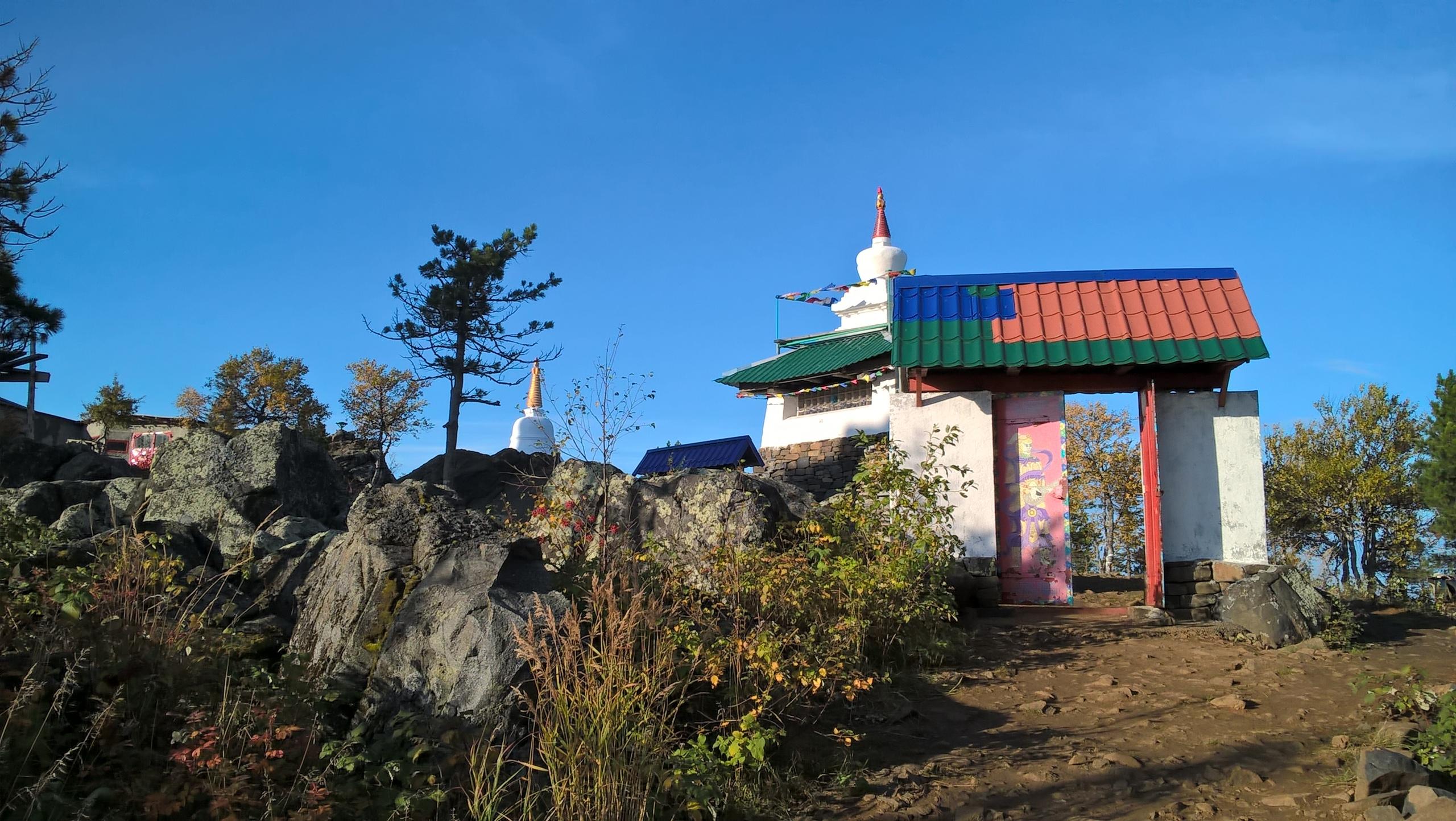 вход в монастырь Качканар