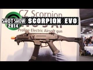 Shot Show - ASG CZ Scorpion EVO! - Airsoft GI