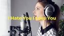 I Hate U I Love U Gnash Romy Wave piano cover
