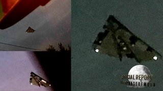 HUGE TR-3B Caught Over Los Angeles! UFO Evidence Will Amaze You! 2021