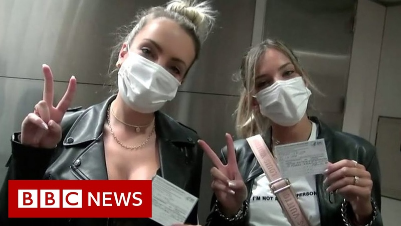 The vaccine tourists heading to the US to get their jab BBC News
