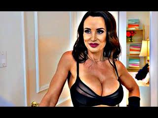 ПОРНО С ПЕРЕВОДОМ -- ЖЕНА ТРАХАЕТ СОТРУДНИКОВ МУЖА -- порно на русском языке --  Lisa Ann