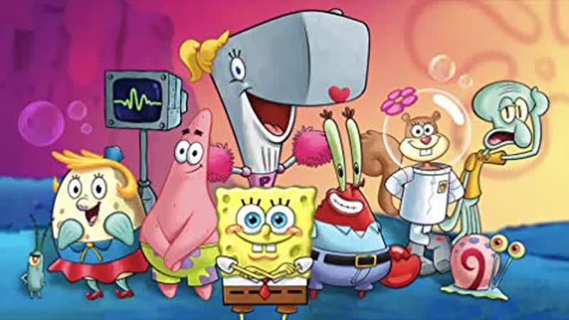 SpongeBob - Plankton is on a rampage.