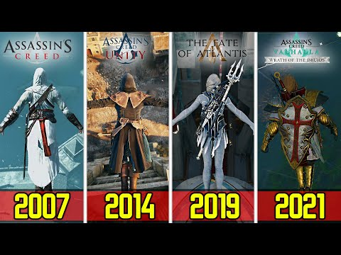 Jumping from the HIGHEST POINT in every Assassin's Creed DLC's 2007 2021