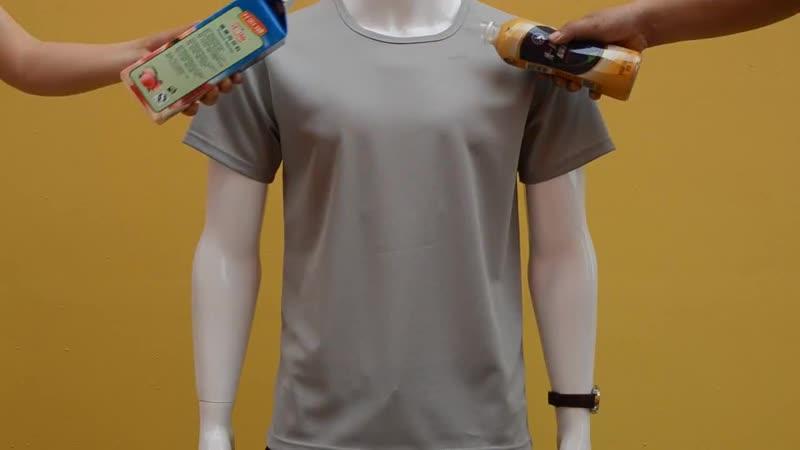 креативная футболка Waterproof T-shirt