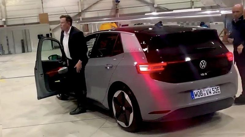 Илон Маск протестировал главного конкурента Model 3