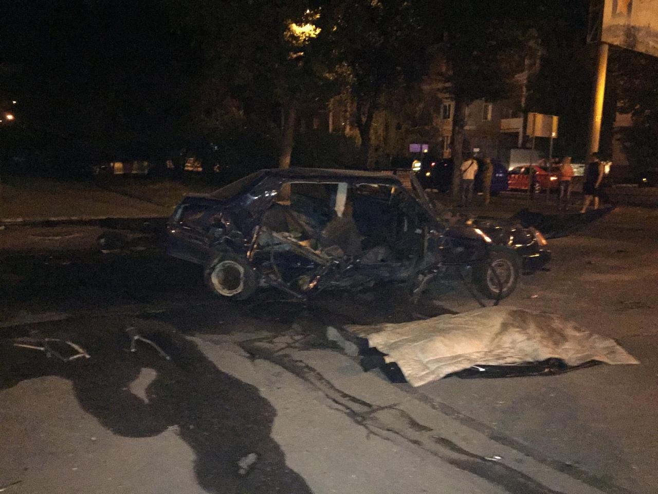 В Донецке произошло смертельное ДТП