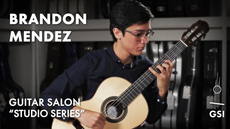 Marco Pereira's Bate Coxa performed by Brandon Mendez on a Guitar Salon Studio Series CR 100S 2021